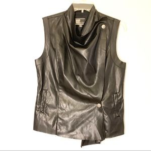 Kut from the Kloth faux leather vest Size S